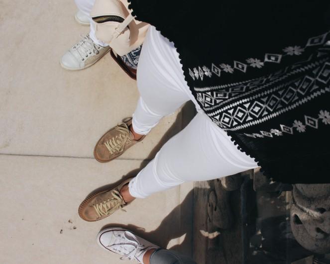 white jeans I