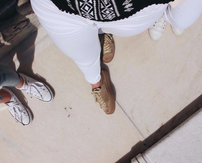 white jeans II
