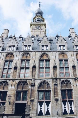 Het stadhuis van Veere.