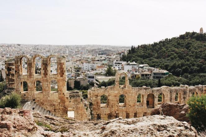 athene akropolis uitzicht II