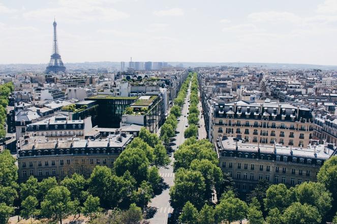 Arc de Triomph view