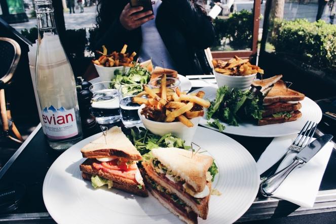 Champs Élysées club sandwich