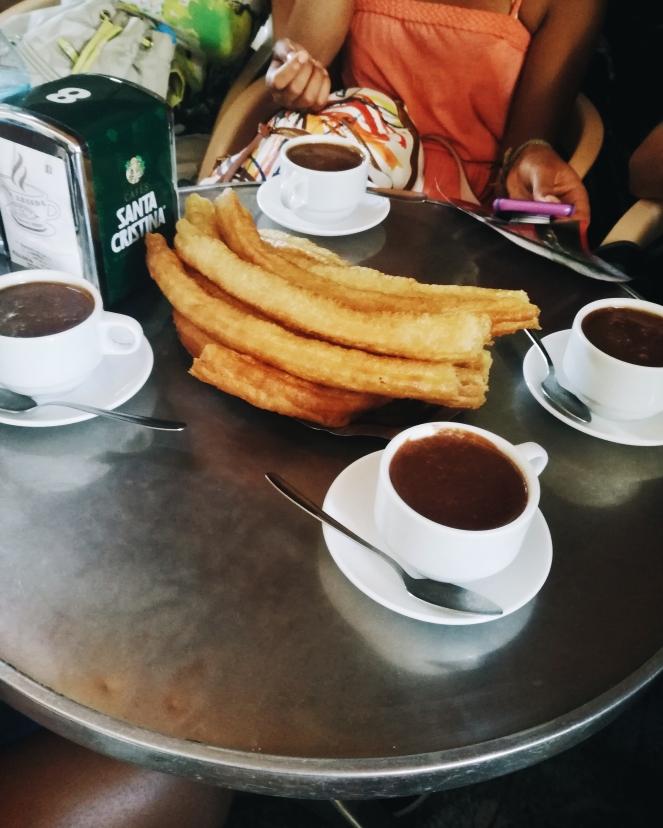taalcursus Malaga churros