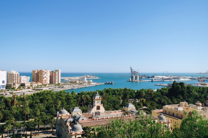 taalcursus Malaga excursie Alcazaba