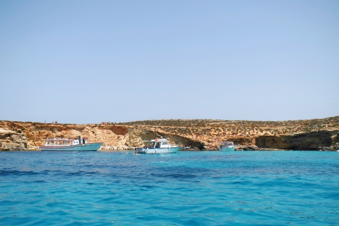 blue lagoon boattrip