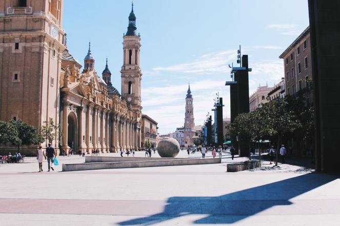 Plaza del Pilar Zaragoza study abroad