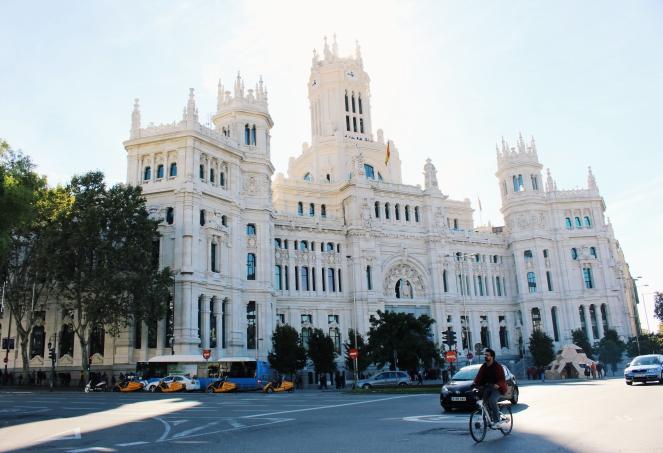 Madrid Palacio de Comunicaciones